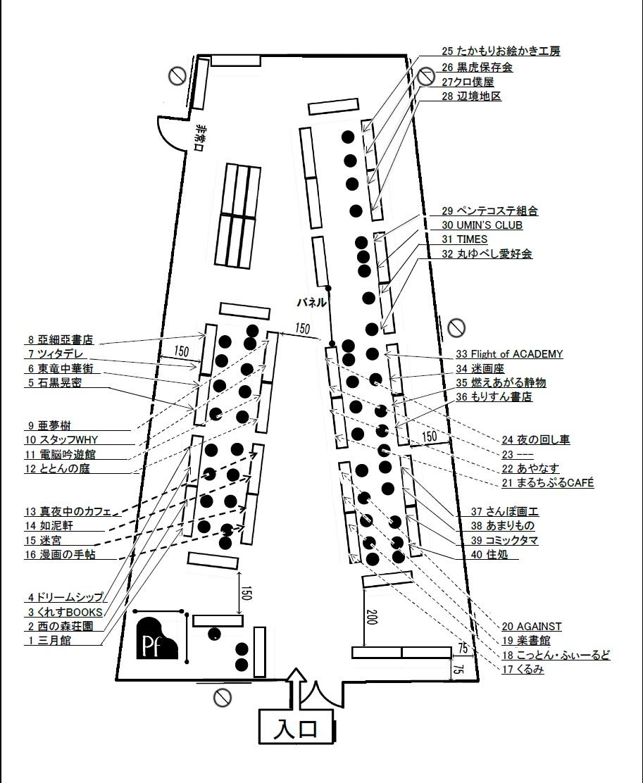 MGM2.11サークル配置図